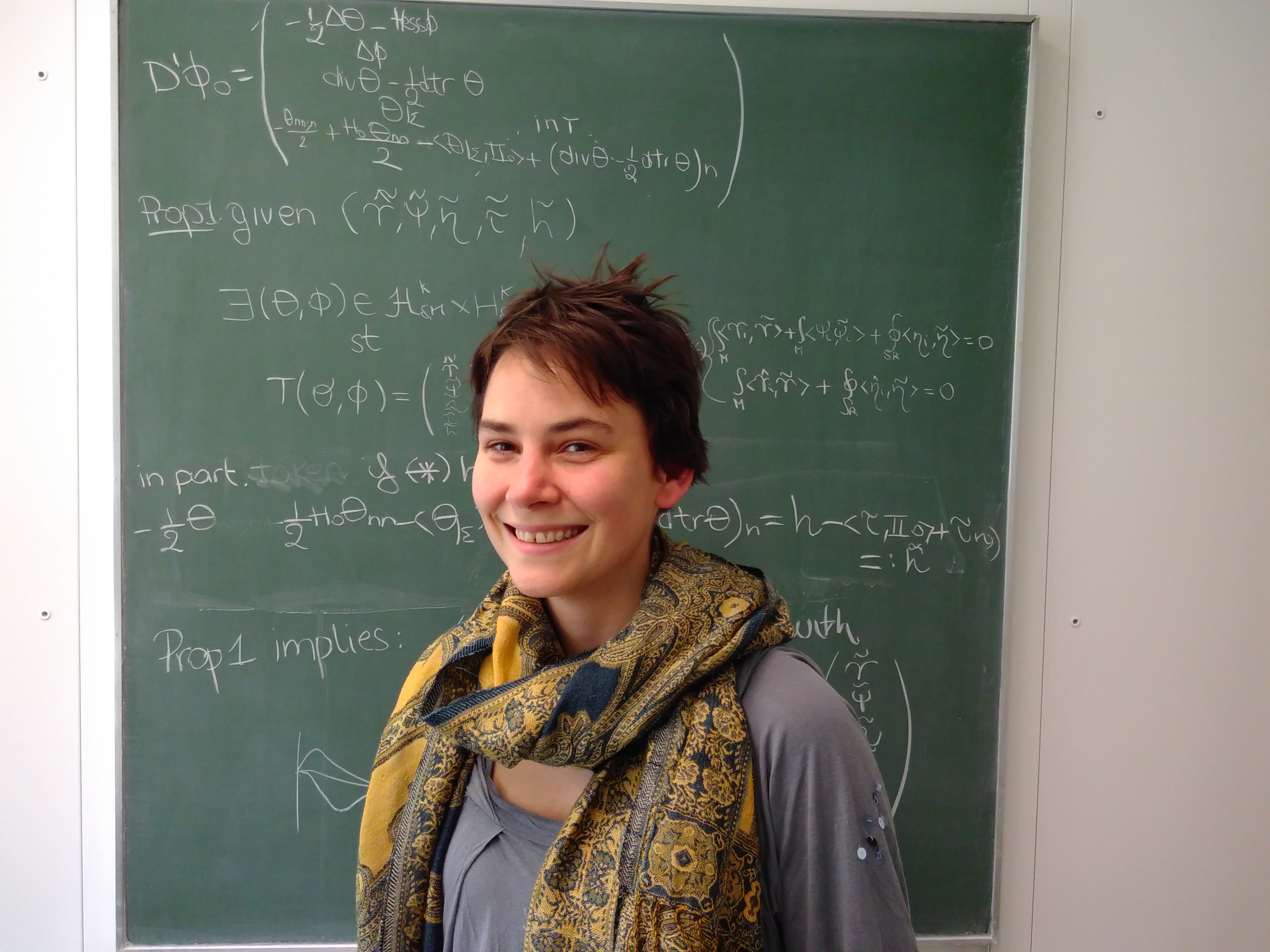 Sophia Jahns, Doctor of Mathematics and science communicator. Photo: Julien Sessler