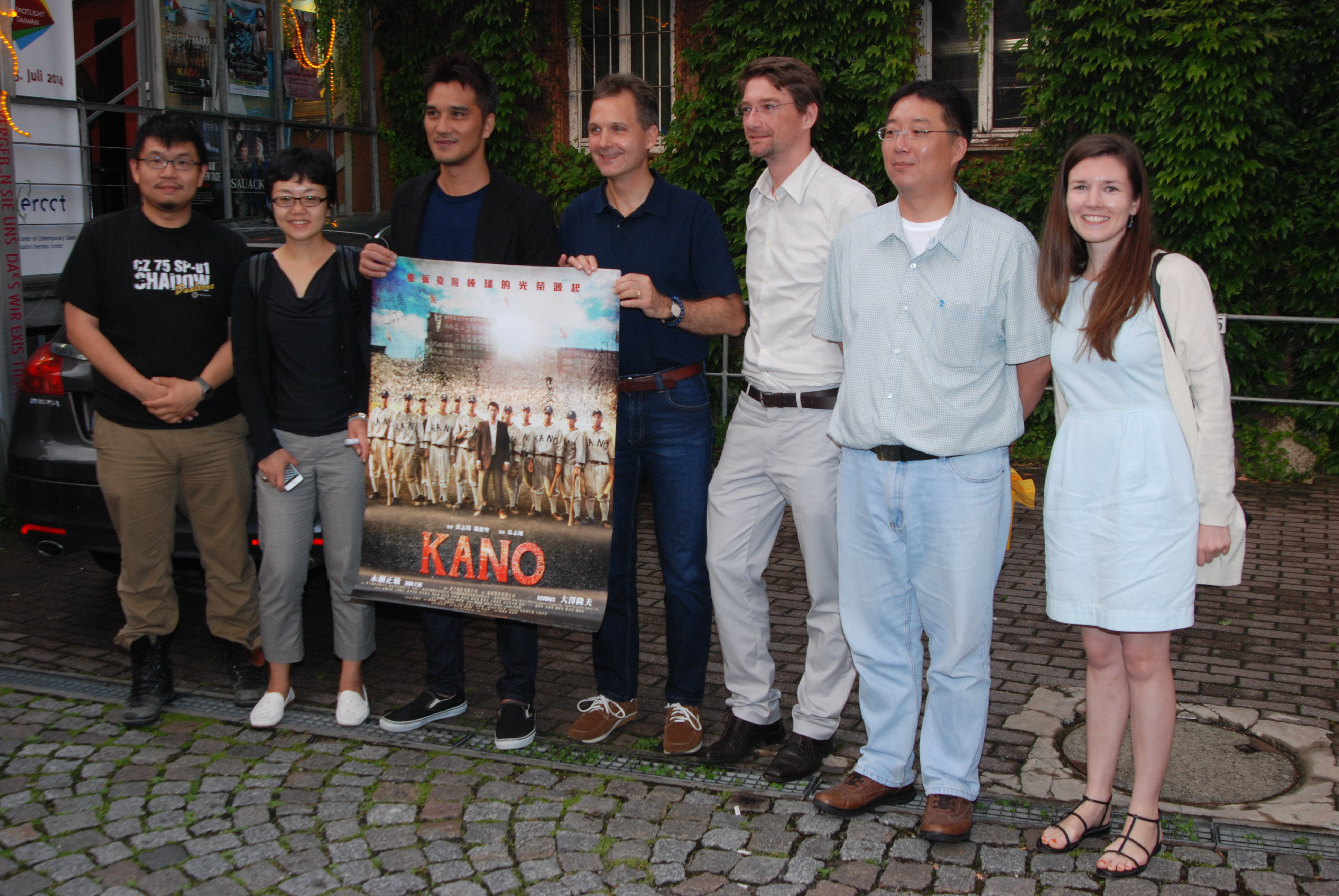 Umin Boya presented KANO in Tübingen