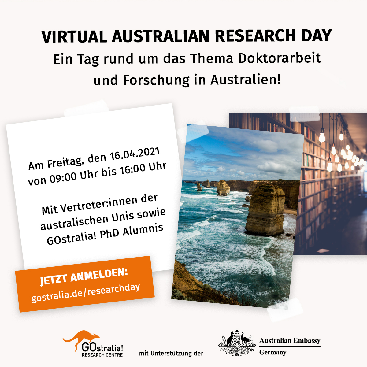 Einladung Australien Research Day