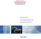 Leitet Download der Imagebroschüre der Universität Tübingen ein