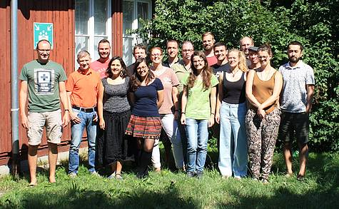 Group picture isotope geochemistry