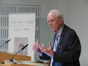 Der kanadische Philosoph Charles Taylor. Foto: Universität Tübingen/Friedhelm Albrecht