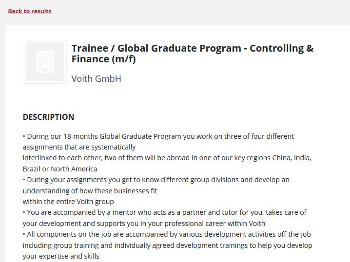 praxisportal job and internship board - Wiso Bewerbung